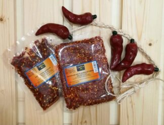 Peperoncino a scaglie forte